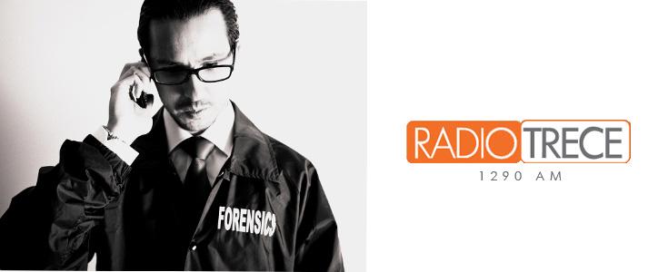Andrés Velázquez en Radio Trece Noticias