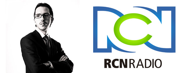 Andrés Velázquez en RCN la Radio